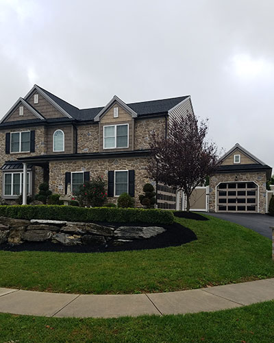 Home in Lancaster, PA with Roof Shingles