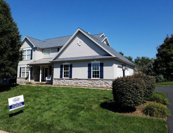 new home asphalt shingle roof in lancaster pa