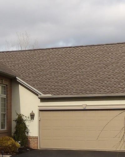 Asphalt Shingle Roof Repair by Amish Roofers