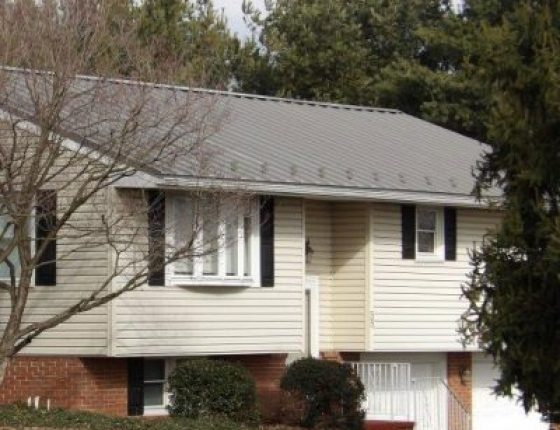Completed Metal Roof Installation in Lancaster, PA